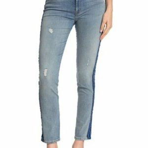 "HUDSON Barbara 12"" Side Seam Jeans in Night Tide"